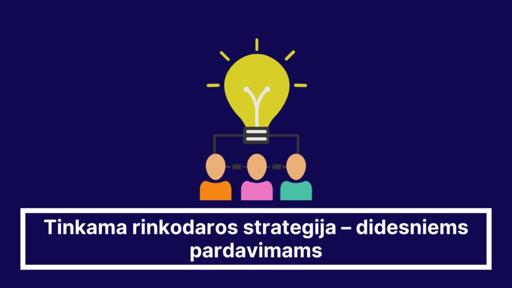 rinkodaros strategija